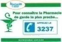 Pharmacie Soleil - Numéro pharmacie de garde - 3237